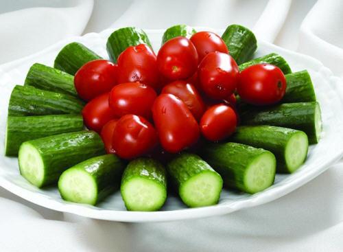 黄瓜和西红柿能一起吃吗?
