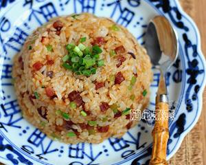 广式腊味炒饭