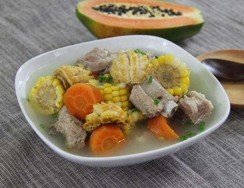 炖排骨汤加入灵芝味道好能提高免疫力