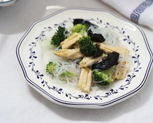 椒油腐竹粉丝