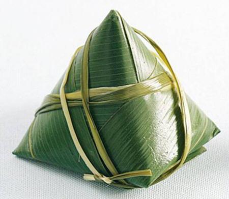 宝塔粽子的包法图解