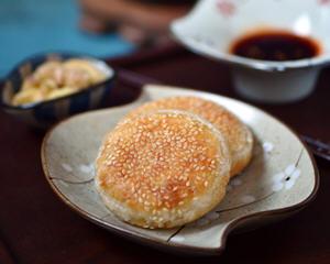 芝香千层发面饼(空气炸锅版)