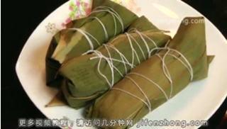 龙舟粽子的包法图解