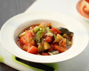 西红柿烧茄子简单做法_最简单好吃的西红柿烧茄子制作方法图解