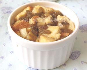 香蕉面包布丁蒸锅不用烤箱