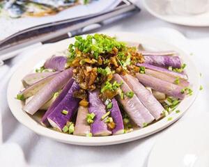 剁椒蒸茄子豆腐的做法_图解剁椒蒸茄子豆腐如何做好吃