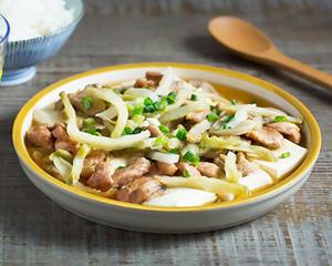 榨菜肉丝蒸豆腐