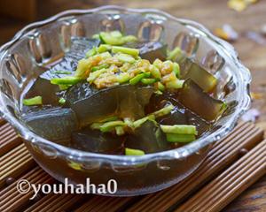 石花菜制作凉粉
