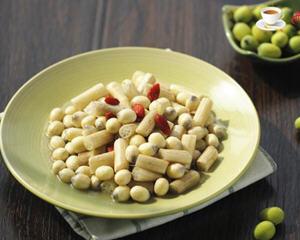 莲子米炒藕带的做法_图解好吃的莲子米炒藕带怎么做