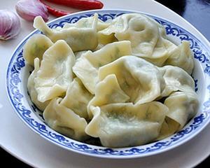 茴香馅素饺子