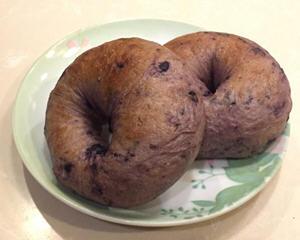 免手揉冷藏发酵蓝莓贝果面包