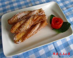 糖霜油条的做法_图解堪比肯德基的糖霜油条怎么炸