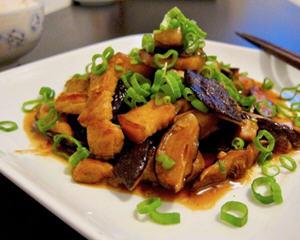 酱烧香菇五花肉