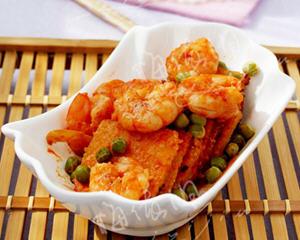 剩米饭做番虾锅巴
