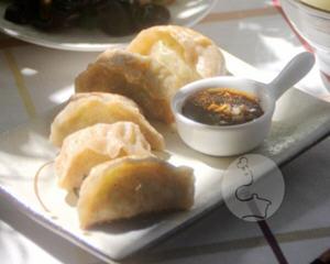 小瓜虾仁煎饺