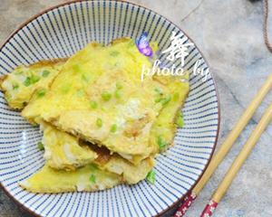 家常豆腐煎蛋