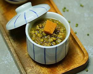 绿豆南瓜汤电饭锅版