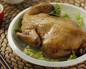 烤鸡电饭煲版