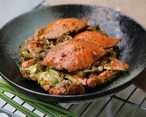 咖喱梭子蟹烤箱版