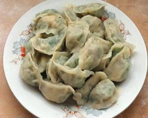 韭菜猪肉三鲜馅饺子