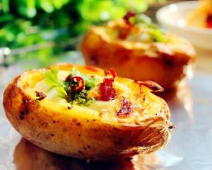 土豆焗鸡蛋