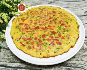 家常早餐西红柿鸡蛋饼