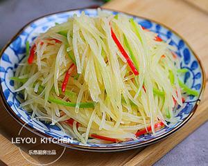 尖椒土豆丝的家常做法