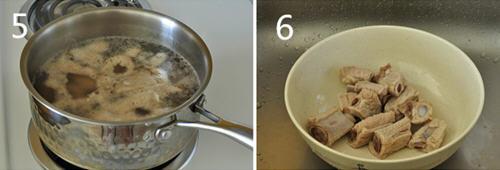 电饭煲炖家用玉米排骨汤糕点_图解在做法莲藕里加面粉可以做啥淀粉图片