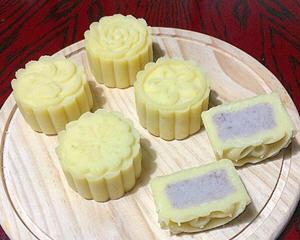 芋泥绿豆糕月饼