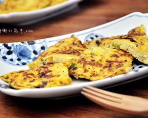 豆腐香菇菜饼