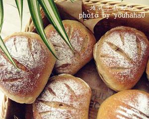 法式牛奶面包的做法_图解好吃的法式牛奶面包怎么烤