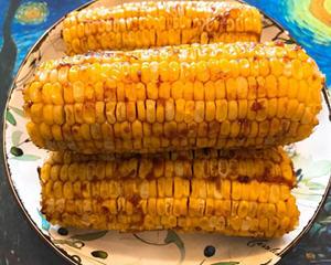 烤箱沙茶烤玉米