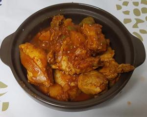 韩式辣炒鸡汤简易版