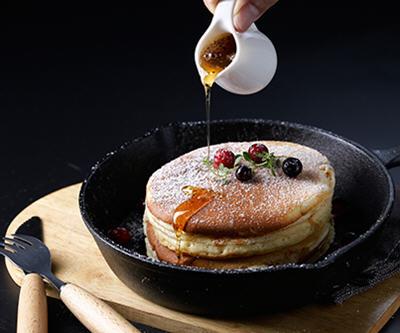 不会失败的铁锅松饼制作方法整合