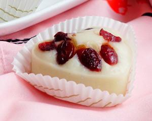 蔓越莓酒酿发糕