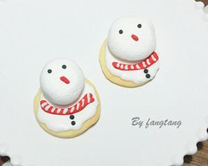 雪人糖霜饼干