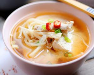 有机味噌汤