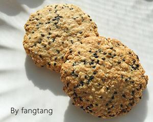 黑芝麻燕麦饼干的简单做法