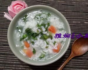 萝卜缨子大米粥