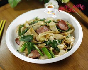 哈尔滨红肠炒豆丝