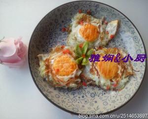 鸡蛋萝卜丝煎饼