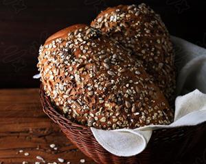 杂粮面包家常做法