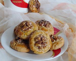 燕麦核桃仁酥糖小西饼