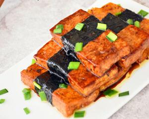 海苔豆腐的做法_图解海苔豆腐怎么做好吃