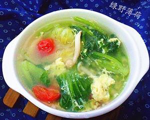 蔬菜蘑菇汤